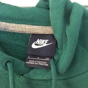 Nike Tops - Green Nike Hoodie